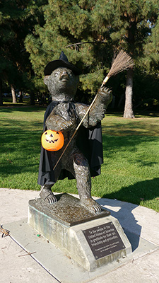 Griffith Park Bear (October 2011)